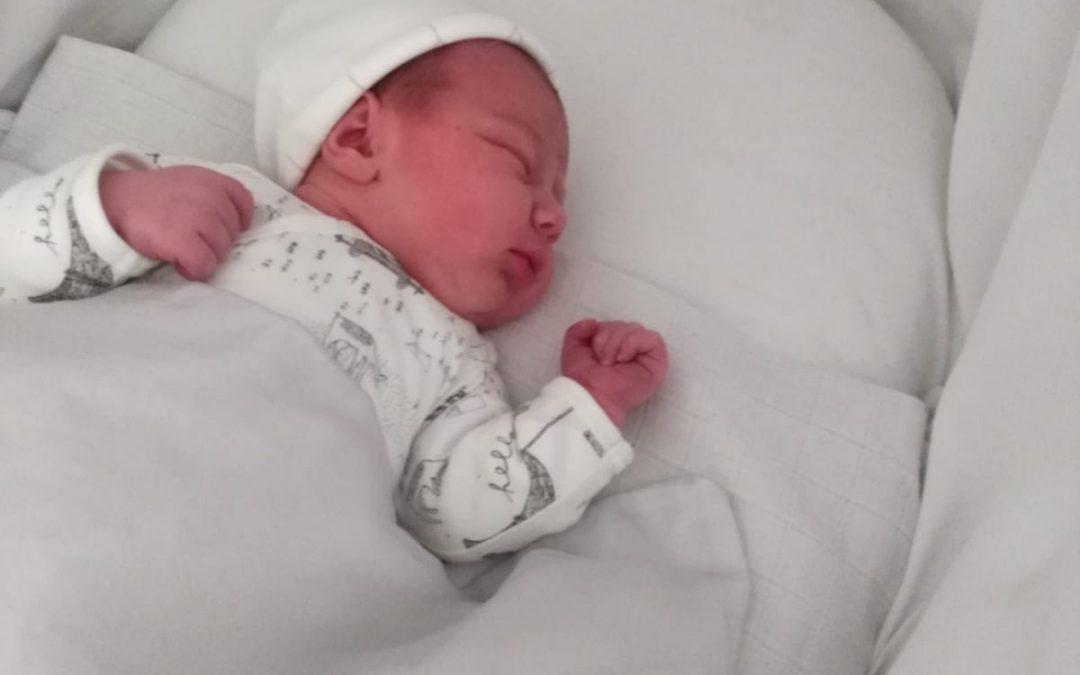 Hoera! Een dochter geboren!