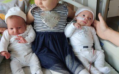 Tweeling Geboren bij Jenneke en Gerben Voois-Mourik